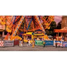 Faller 140358 Fairground Barrier&Signs