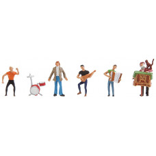 Faller 150912 Band/Street Musicians 5/