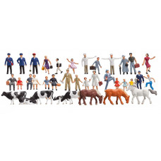 Faller 155253 Beginner's Set Figs 36/