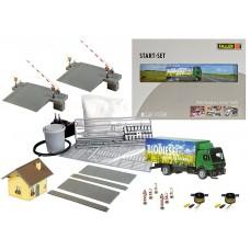 Faller 161519 C/S Lvl Xing &MB SK Lorry