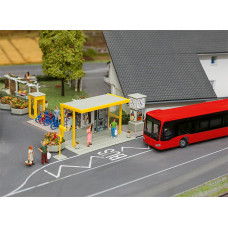 Faller 161653 Car System Bus Stop Set