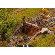Faller 180390 Dams f/Stream Hnd Crnk 2/