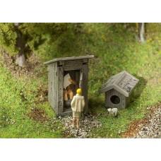 Faller 180396 Small Toilet w/Servo