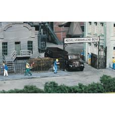 Faller 180412 Iron Fence w/Gate