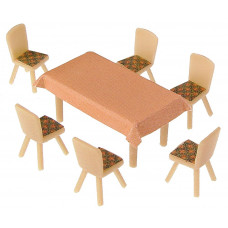Faller 180442 4 Tables & 24 Chairs