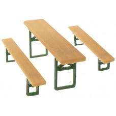 Faller 180444 Beer Benches & Tables 60/