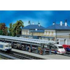 Faller 222121 ICE Platform w/Bnchs/Brds