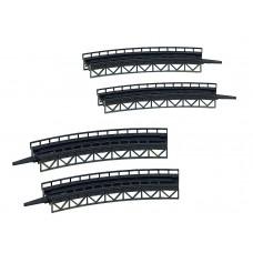 Faller 282905 Cur stl bridge 2 radii 4/