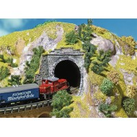 Faller 282934 1&2track tunnel portal 4/