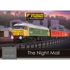 Graham Farish  370-130 - N Scale Train Set - The Night Mail