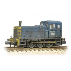 Graham Farish  371-064 - Class 03 03170 BR Blue Wasp Stripes & Air Tanks Weathered