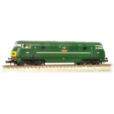 Graham Farish  371-604 - Class 42 Warship D832 'Onslaught' BR Green