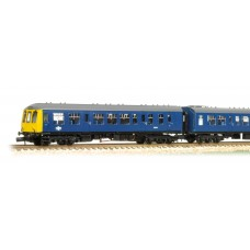 Graham Farish  371-876DS - Class 108 2 Car DMU BR Blue DCC Sound