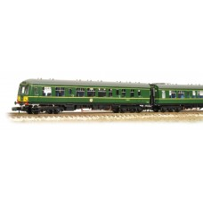 Graham Farish  371-880 - Class 108 2 Car DMU BR Green Small Yellow Panel