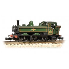Graham Farish  371-987 - Class 64xx 0-6-0 Pannier Tank 6412 BR Lined Green Late Crest
