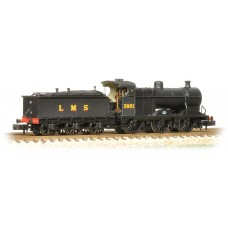Graham Farish  372-061 - Midland Class 4F 3851 LMS Black Johnson Tender