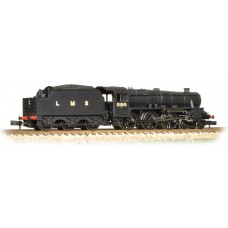 Graham Farish  372-138 - Class 5 5190 LMS Plain Black