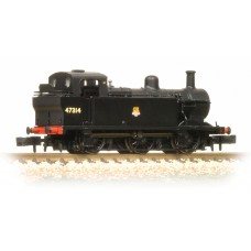 Graham Farish  372-211A - Class 3F (Jinty) 47314 BR Black Early Emblem
