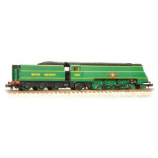 Graham Farish  372-313 - Merchant Navy Class 35021 'New Zealand Line' BRITISH RAILWAYS Malachite Green