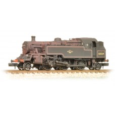 Graham Farish  372-330 - BR Standard Class 3MT Tank 82029 BR Lined Black Late Crest Weathered