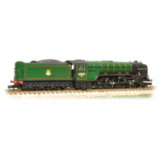 Graham Farish  372-386 - Class A2 60537 'Bachelors Button' BR Lined Brunswick Green Early Emblem