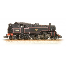 Graham Farish  372-536 - Class 4MT Tank 80119 BR Lined Black Late Crest