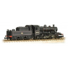 Graham Farish  372-628 - Ivatt Class 2MT 2-6-0 46443 BR Lined Black Late Crest