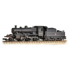 Graham Farish  372-629 - Ivatt Class 2MT 2-6-0 46460 BR Lined Black Early Emblem Weathered