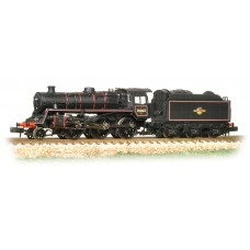 Graham Farish  372-654 - BR Standard Class 4MT 76063 BR Lined Black Late Crest