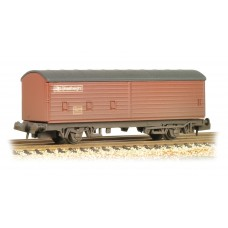 Graham Farish  373-055 - 29 Ton VBA Box Van BR Railfreight Brown Weathered