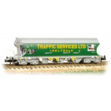 Graham Farish  373-237 - Bulk Grain Bogie Hopper Wagon 'Traffic Services Limited'