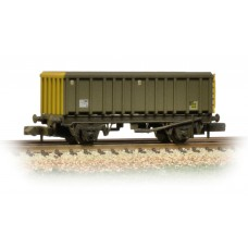 Graham Farish  373-576A - 45 Tonne glw MEA Open Box Wagon BR Coal Sector Weathered