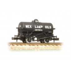 Graham Farish  373-680 - 14 Ton Tank Wagon with Large Filler 'Mex Lamp Oils'