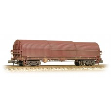 Graham Farish  373-827 - 102 Tonne glw BRA Steel Strip Carrier EWS Weathered
