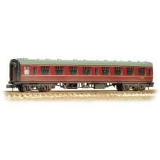Graham Farish  374-061C - (D) BR Mk1 SK Second Corridor BR Maroon Weathered