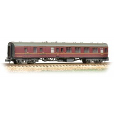 Graham Farish  374-187C - (D) BR Mk1 BSK Brake Second Corridor Maroon Weathered