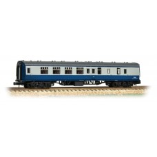 Graham Farish  374-188C - BR Mk1 BSK Brake Second Corridor Blue & Grey