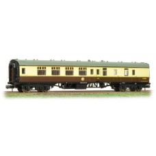 Graham Farish  374-189B - (D) BR Mk1 BSK Brake Second Corridor (WR) Chocolate & Cream