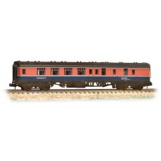 Graham Farish  374-195 - BR Mk1 BSK Brake Second Corridor 'Laboratory 12' RTC Weathered