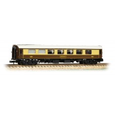 Graham Farish  374-220D - BR Mk1 FK Pullman First Kitchen Car 'Robin' Umber & Cream