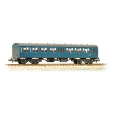 Graham Farish  374-292 - BR Mk1 57ft Suburban Second Open Blue - Weathered