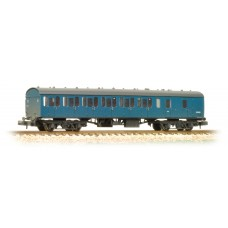 Graham Farish  374-313 - BR Mk1 57ft Suburban Brake End Blue - Weathered