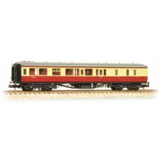Graham Farish  374-510 - Hawksworth Brake 3rd Class Corridor BR Crimson & Cream