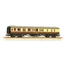 Graham Farish  374-511 - Hawksworth Brake 3rd Class Corridor GWR Chocolate & Cream
