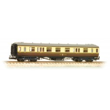 Graham Farish  374-561 - Hawksworth Corridor 1st/3rd Composite GWR Chocolate & Cream