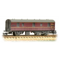 Graham Farish  374-641 - BR MK 1 CCT Lined Maroon Weathered