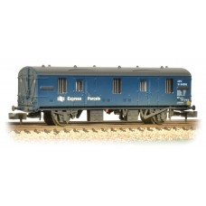 Graham Farish  374-642 - BR MK 1 CCT Blue Express Parcels Weathered