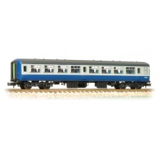 Graham Farish  374-710A - BR MK2A TSO Tourist Second Open Blue & Grey