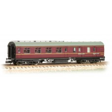 Graham Farish  374-827B - Stanier Brake Second BR Maroon
