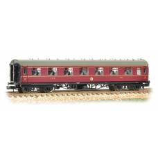 Graham Farish  374-840B - Stanier Vestibule Third LMS Crimson Lake